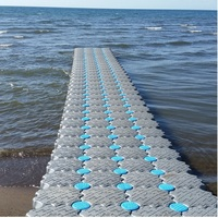 China Manufacturer Easy Installing Durable HDPE Floating Pontoons Dock