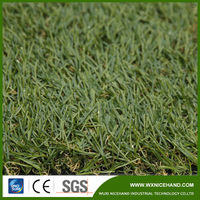 Natural looking yarn UV test landscaping artificial grass for gardens