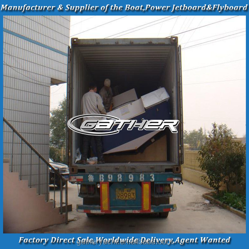 Gather factory directly sale alibaba 7.2m fishing boat,aluminum fishing boat,small aluminum fishing boat