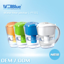 2015 Hot Selling Alkaline Water pitcher Cup L-PF601 (alkaline 8.5-10.4 ,ORP -150mv to-300mv)