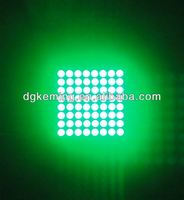 Epistar GREE chip 8x8 led matrix curtain green 525nm P2 5