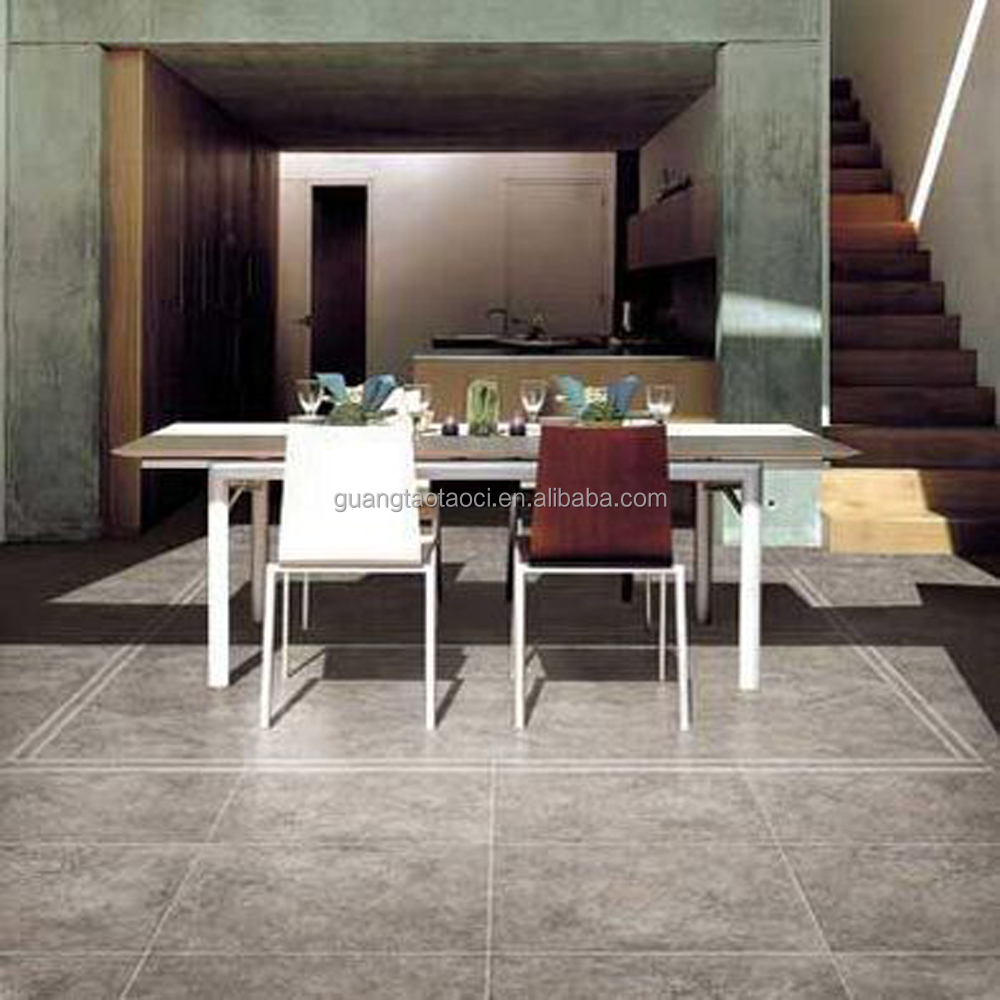 Color-penetrated gres porcellanato tile black