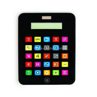 2015 A4 size Portable Touch Screen big size desktop Calculator with solar power