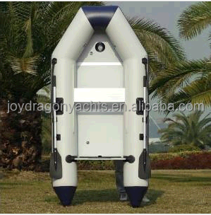 CE Certificate 2.7m inflatable fishing boat with aluminium floor