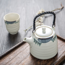 Unique Japanese home used drinkware ceramic tea set