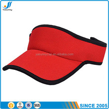 2017 Promotional high quality custom sun visor for summer