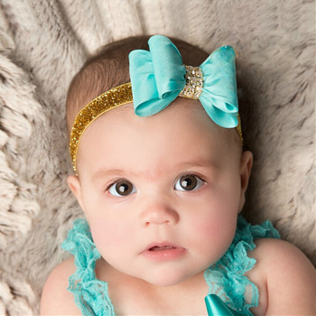 MS70016W European style baby bling bling hair band