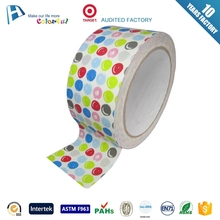 fashion cloth duct tape jumbo roll easy to tear cloth tape