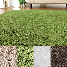 Machine made washable soundproof rugs carpets shaggy floor tiles