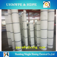 Low friction coal bunker UHMW PE liner/lining