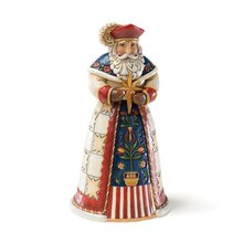 "Polish Santa Stone Resin Figurine, 7"" made by resin statue resin sculptures"