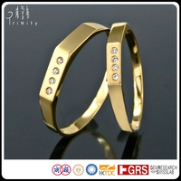 14K18K Yellow Gold Wedding Bands, Anillo de boda, Fede nuziale, Alliance bijou Diamond Rings Wholesale Jewellery Jewelry Factory