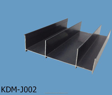 Aluminium profile extruded for door and window frame
