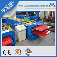 China Supplier Roof And Wall Panel Roll Forming Machine on Sale