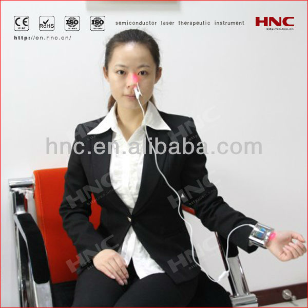 Portable household allergic rhinitis therapy device acupuncture equipment physiotherapy equipment