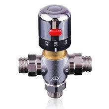 Sanitary Ware DN15 Thermostatic Mixing Valve Faucet Water Temperature Control Bath Tub Faucet Solar water heater Valve in yuhuan