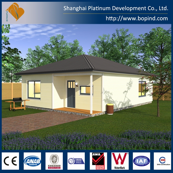 China supplier beautiful economic prefab steel structure smart home, prefabricated smart homes