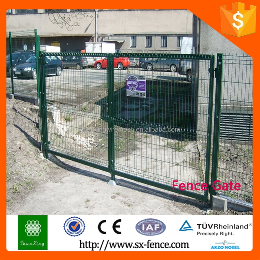 ISO9001 Factory Gates Fence Gate Designs For Homes
