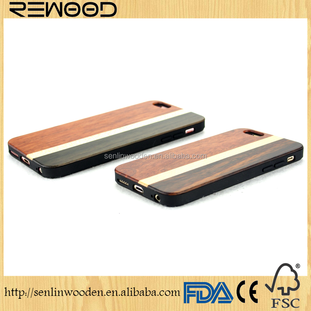 Real wood factory eco friendly personalized wooden cell phone case for 6, mobile phone wooden case