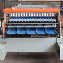 metal roof tile making machine/Tile Glazing Machine with lower price made in China