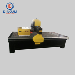 4 axis 1325 CNC router 3D wood engraving carving cutting machine for sale