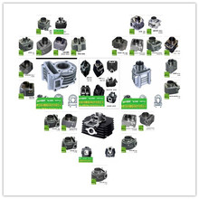 OEM quality factory direct sale wholesale motorcycle cylinder kit,motorcycle complete cylinder