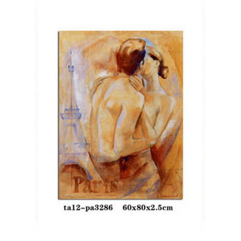 New Product Nude Man And Woman Oil Painting