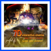 classic adult movies simulator game 7d cinema for sale with 6dof motion seat