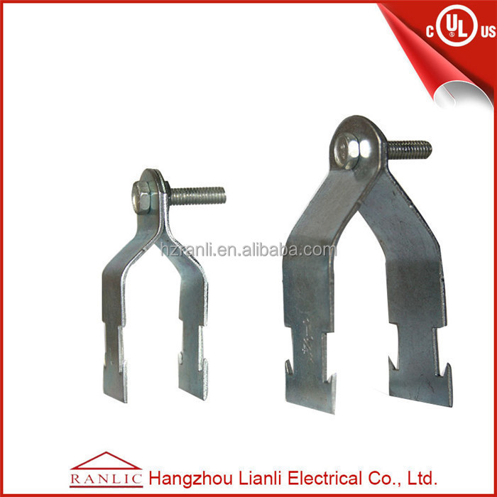 China conduit steel pipe clip fixing clamp