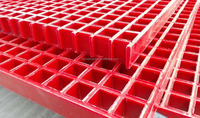 Corrosion resistant open Mesh GRP grating ant-islip