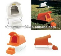 rotationally moulded plastic dog house , plastic animal room