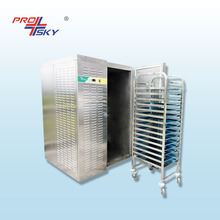 Fish Frozen IQF Quick Freezing Tunnel Freezer