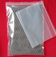 Professional large plastic clear zip lock bag garment printed clear zipper bag with CE certificate