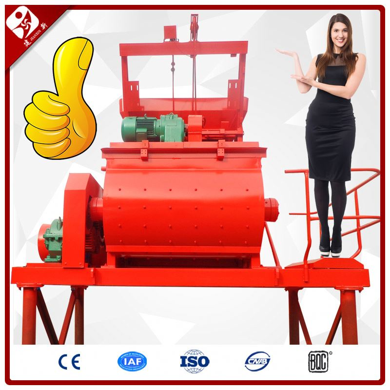 Henan Best Latest Jdc500 Skip Lift Towable Hydraulic Concrete Mixer Craigslist With Hoist