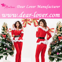 Best-selling winter clothing women crazy party cosplay christmas costume