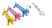 the cute dog pen with black dot printing, novelty pen