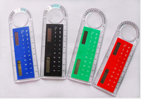 Solar ruler calculator,Magnifier10 cm ruler calculator
