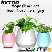 GLACS system lighted outdoor plastic flower pots,led lighted planter pots,garden flower pot GLACS/Music/Linght control