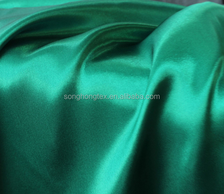 Manufacturer Wholesale 90GM Satin Fabric for Funeral Cheap Price