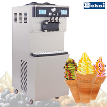 The new type coin operated the soft serve ice cream vending machine