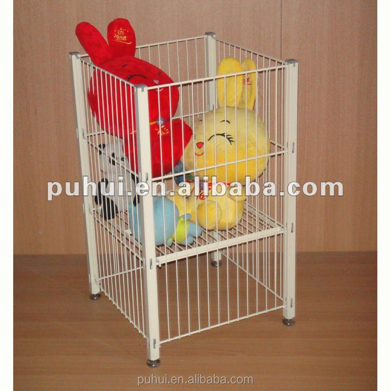 Strong load capacity wire mesh foldable dump bin with good price