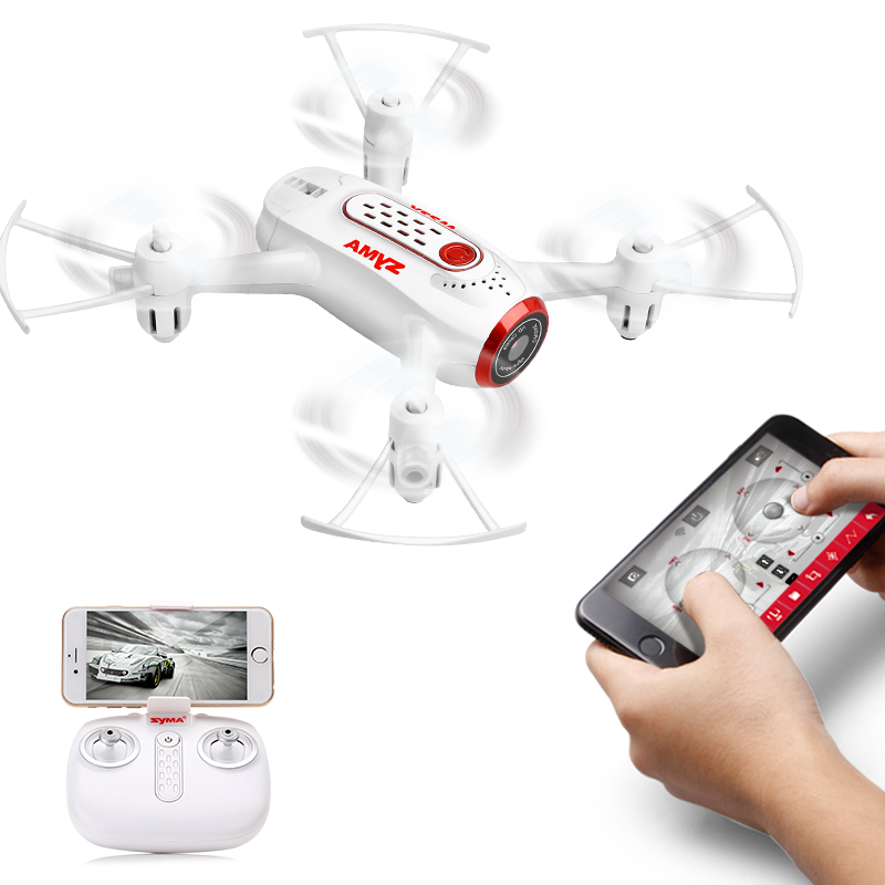SYMA X22W rc airplane mini drone camera FPV Wifi ultralight aircraft flying indoor radio control toy