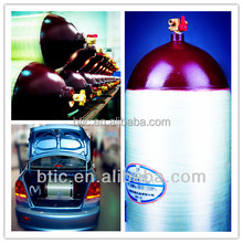 natural gas cylinder gas bottle vertical tank ISO11439 standard CNG gas cylinder for vehicle use TYPE 1, TYPE 2,TYPE 3