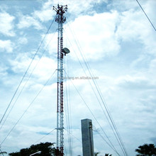 mobile signal transmission guy wire wifi tower