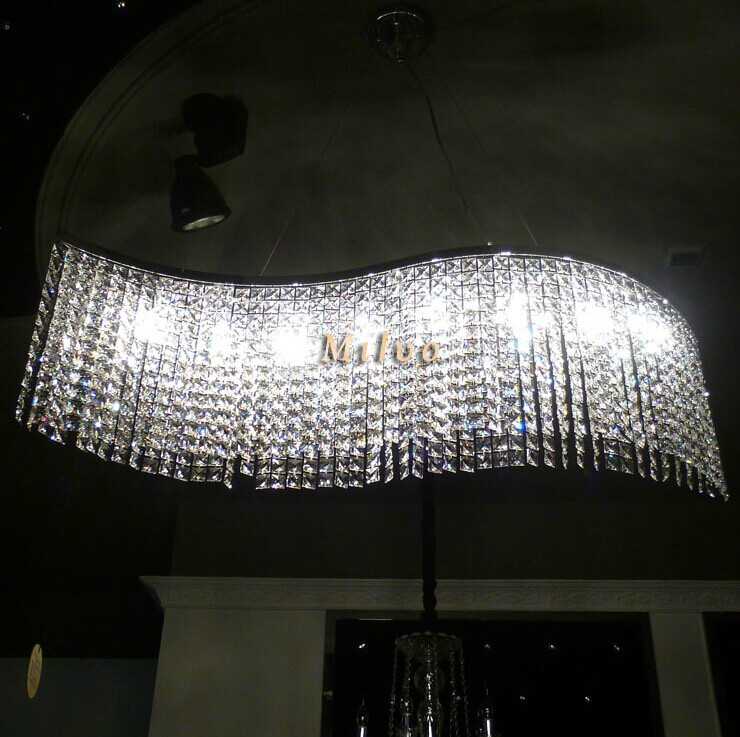 modern dining room led crystal chandelier