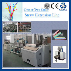CE standard plastic drinking straw tube making production machine
