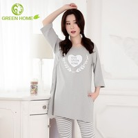 China Guangdong factory cotton nighties for pregnant women