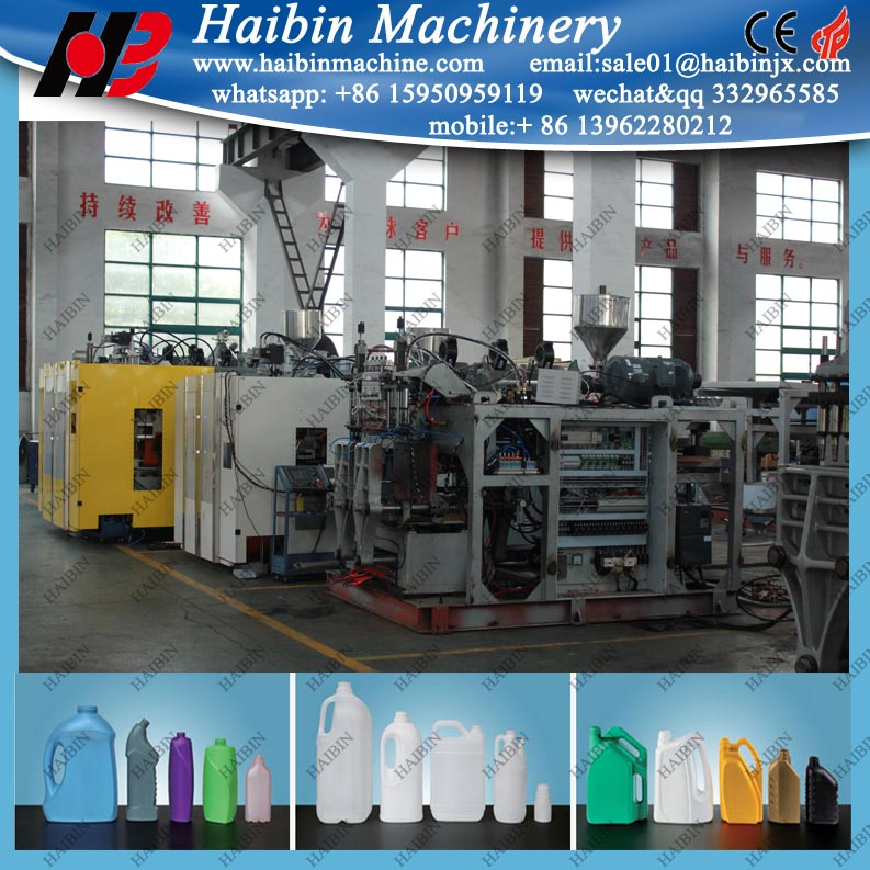 20l hdpe jerry can blow molding machine