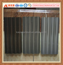 Customized Aluminum Profile Hardness Enough Roller Shutter Slat For Bank Door