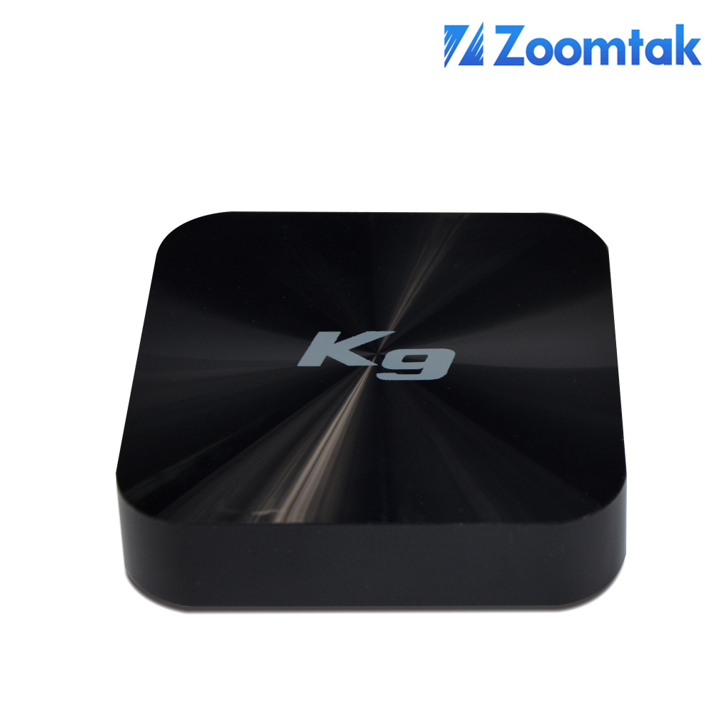 Zoomtak K9 Amlogic S905 Kodi Preinstalled Android 5.1 Lcd Tv Box